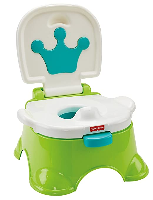4 opinioni per Fisher-Price Baby Gear DLT00- Vasino-Sgabellino del Re, Multicolore
