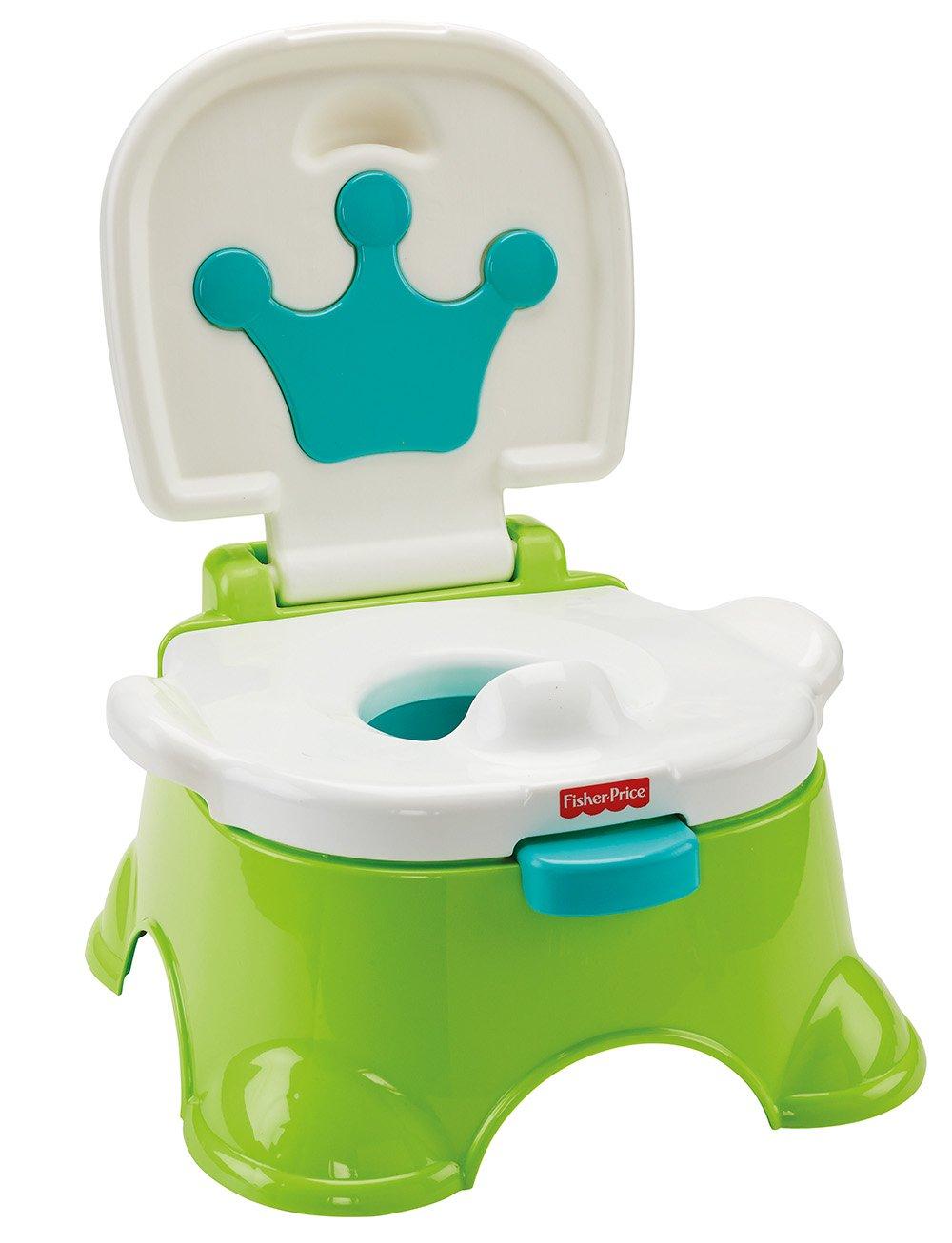 Fisher-Price Dlt00 Royal Stepstool Potty