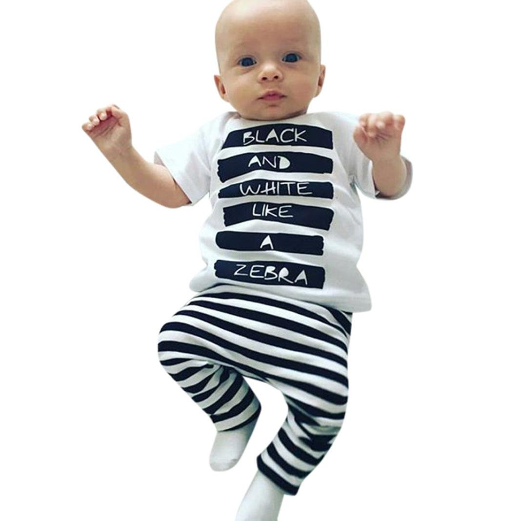 Hocoo Baby Boys Girls Summer Shirt Proud to Be American T-Shirt 6M-24M