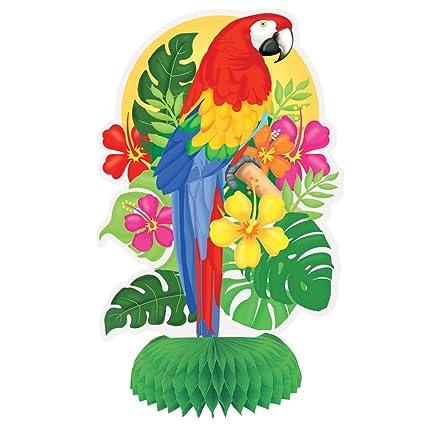 Amazon Com 8 Tropical Island Luau Centerpiece Decorations 3ct
