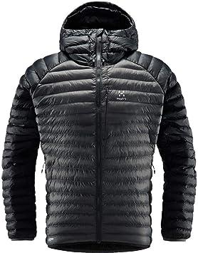 Haglöfs Winterjacke Herren Winterjacke Essens Mimic Hood Wärmend, Atmungsaktiv, Wasserabweisend