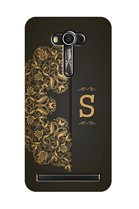 first rate 64d3e b872a ZAPCASE Printed Back Cover for Asus Zenfone 2 Laser 5.5 Alphabet - S