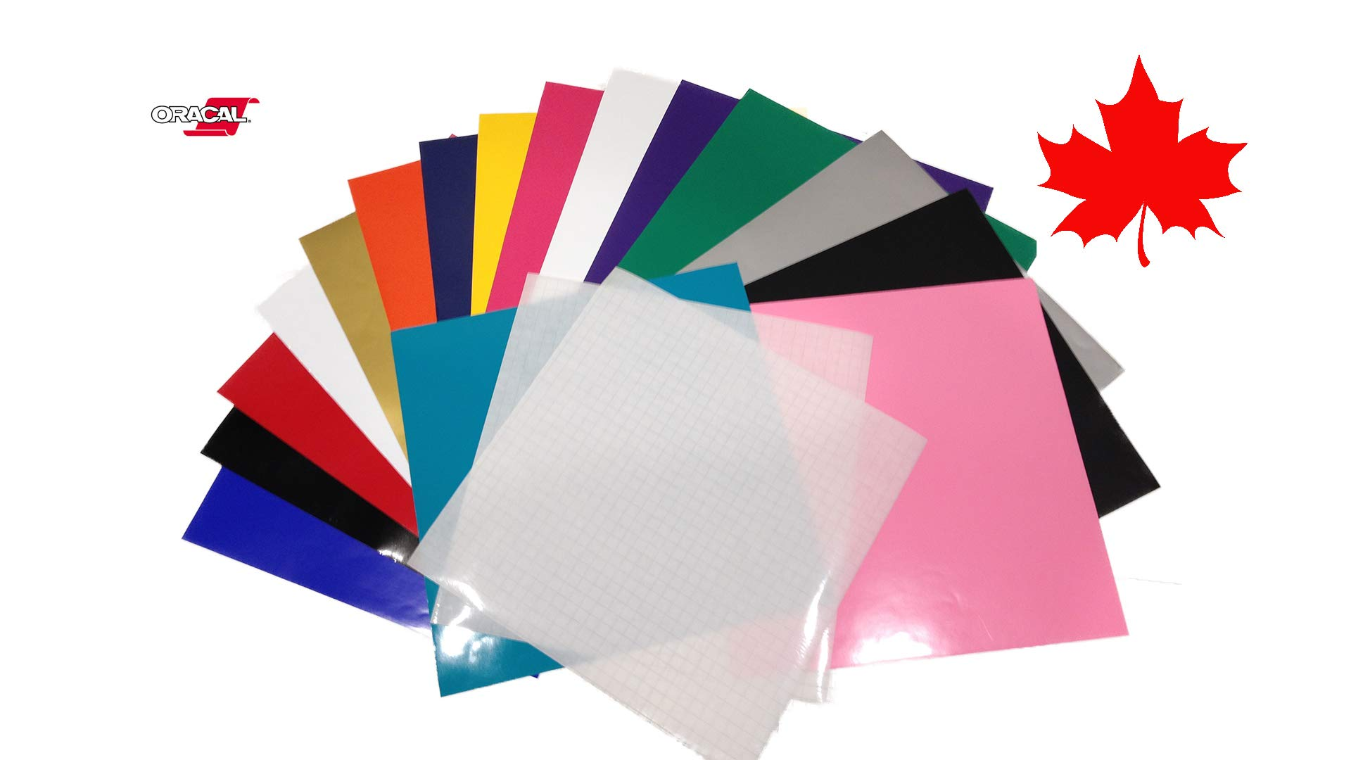 ORACAL 651 Adhesive Vinyl Sheets for Cricut vinyl projects