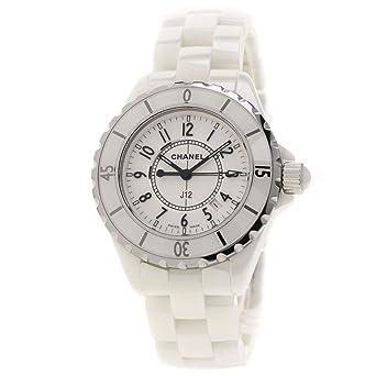 deb1abcae344 Amazon | [シャネル]J12 33 腕時計 セラミック/セラミックxSS レディース ...
