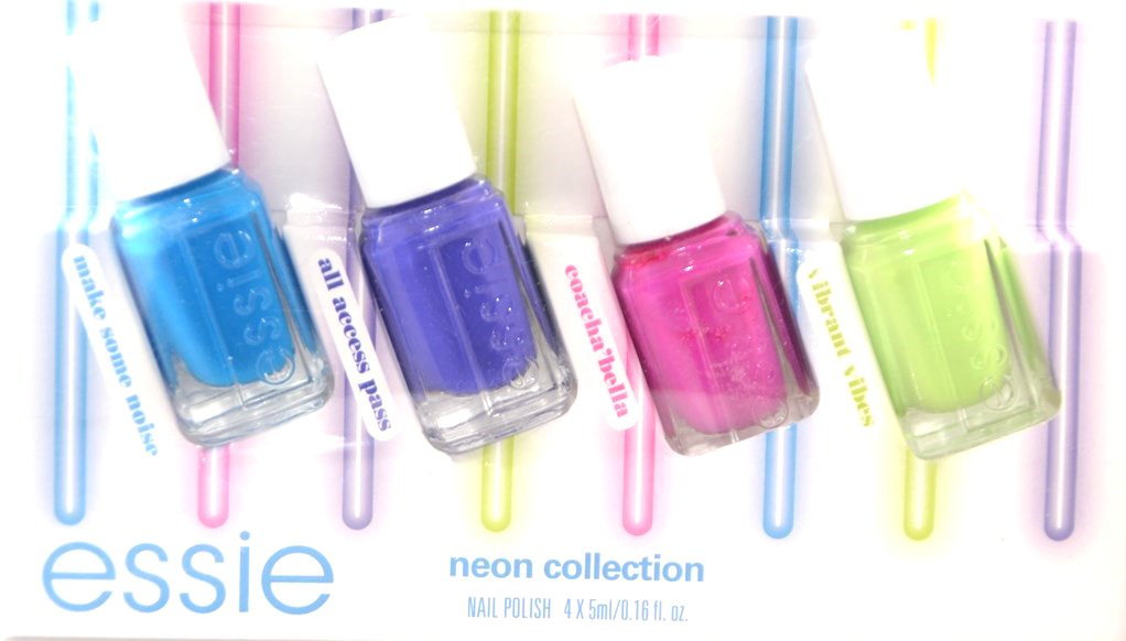 Essie Nail Polish, Neon Collection 5 ml - Pack of 4: Amazon.co.uk ...
