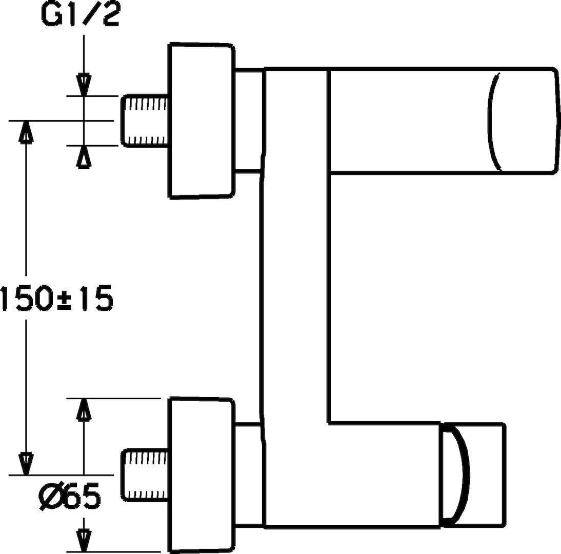 Chrom/é DN 15 Chromé JKRA5 montage monotrou DN 15 Hansa 57092201Mitigeur pour lavabo Hansastela diamètre nominal 15 mm diam/ètre nominal 15 mm