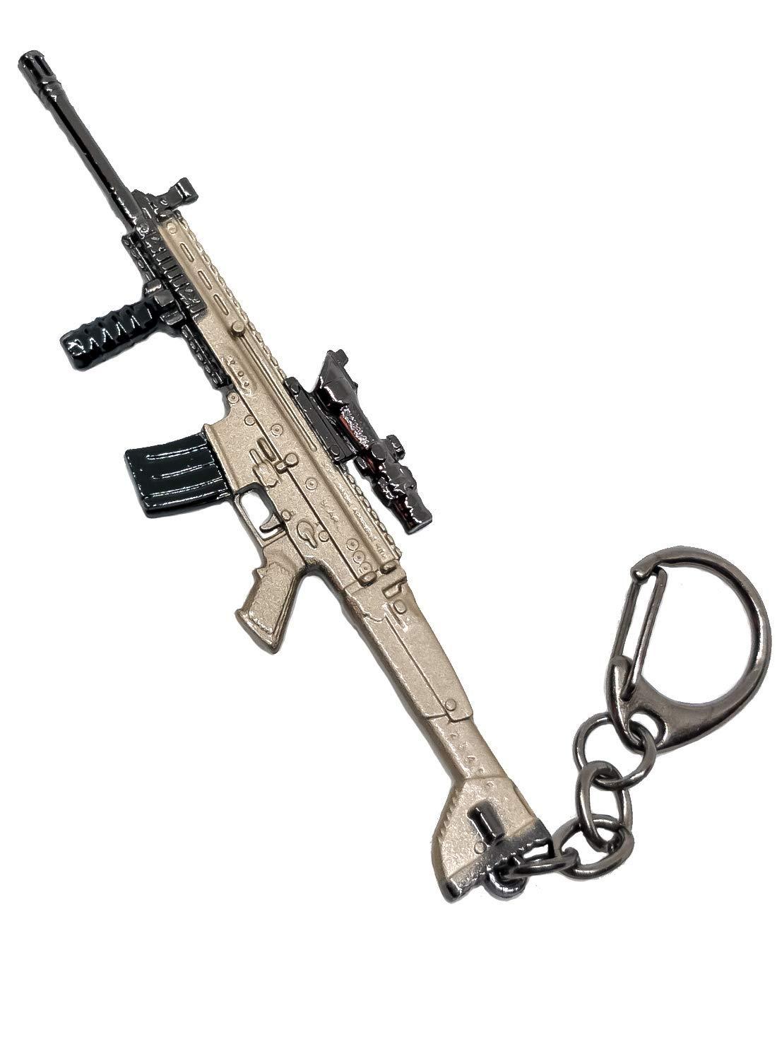 Inestimable Collection PUBG Scar-L Llavero Pistola: Amazon ...