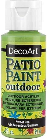 Amazon Com Decoart Patio Paint Acrylic Sweet Pea Green 2oz