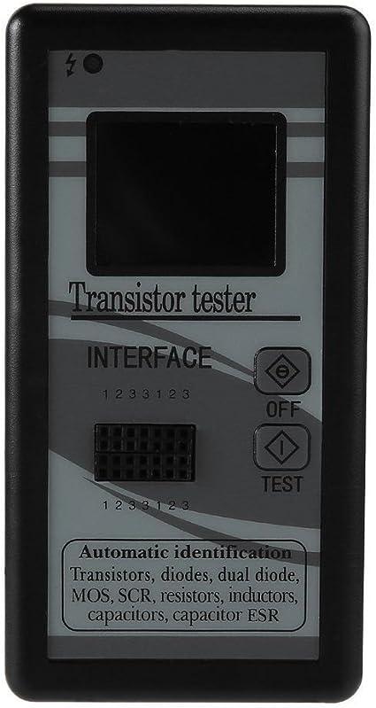 Capacità del triodo del diodo del tester del transistore del tester di