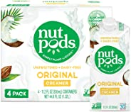 nutpods Original, Unsweetened Dairy-Free Creamer, Whole30, Paleo, Keto, Non-GMO and Vegan, for Coffee, Tea and Cooking, Made