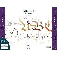 Bloco Caligrafia Calligraphie 250 g/m² 30 x 40 cm com 12 Folhas Lana