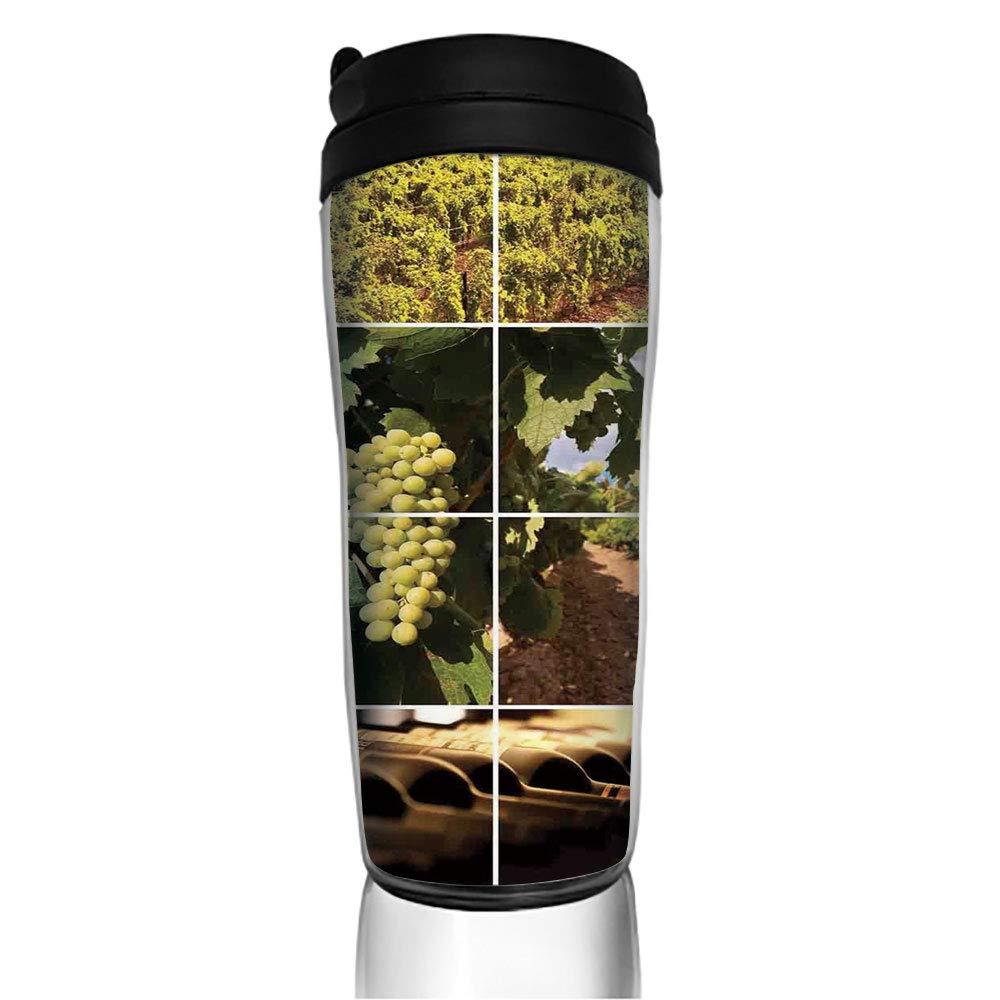 ステンレススチール断熱コーヒートラベルマグ ブラックとホワイト フィクションバトル 素晴らしい こぼれ防止フリップ蓋 断熱コーヒーカップ ホットまたはコールド 11.8オンス(350ml)カスタマイズ可能な印刷 350ML zhiwen_CofeeB19430 350ML カラー10 B07M6C5PWC
