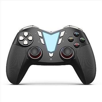 IFYOO ONE - Controlador inalámbrico Bluetooth Pro para Nintendo Switch, recargable, mejorado, vibración, gamepad, mando a distancia para juegos, mando a distancia profesional, color negro y plateado: Amazon.es: Electrónica