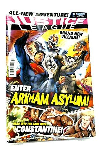DC Comic Universe Presents #50 ~ The Justice League ~ Enter Arkham Asylum!