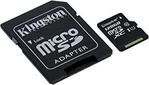 Professional Kingston 128GB for Lenovo Vibe X3 MicroSDXC Card Custom Verified by SanFlash. (80MBs Works with Kingston)