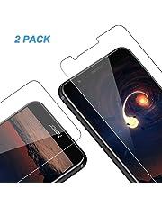 Vkaiy Huawei Honor 7X Pellicola Protettiva in Vetro Temperato - [Durezza 9H] [Alta Trasparente] [Nessuna Bolla] [Anti-Impronte] [ Antigraffi], Facile da Installare, [2 Pezzi]