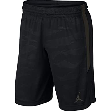 79c959158def09 Jordan Nike Mens 23 Alpha Dry Knit Basketball Shorts Black Sequoia  AO8857-010 Size