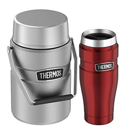Amazon com: Thermos Stainless King Travel Tumbler 16 oz and