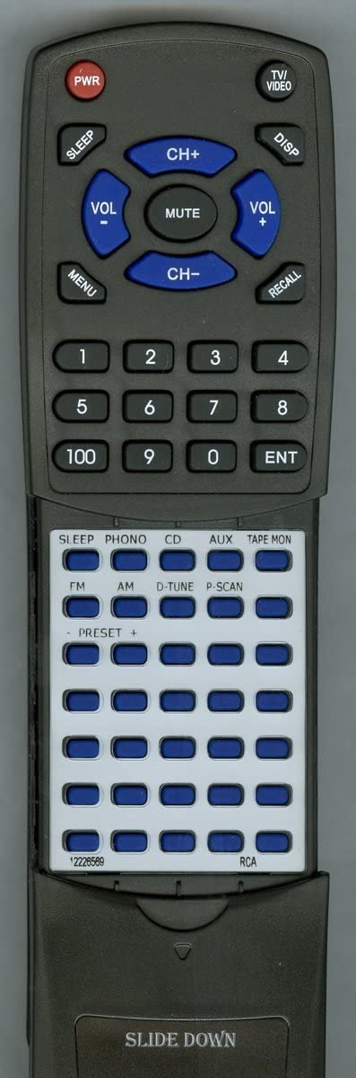 Replacement Remote Control for RCA 12226569 STA3850