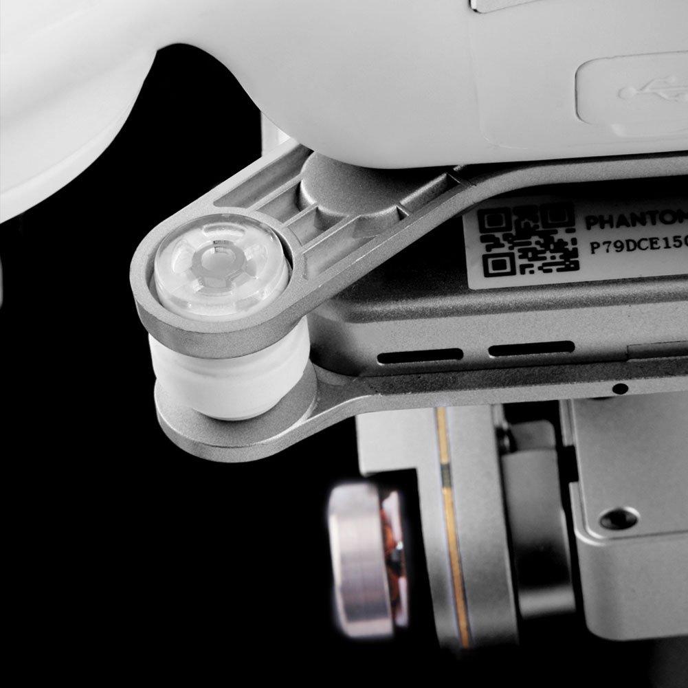 springdoit Juego de Clavijas Parachoques de Drone Gimbal Replacement Damping Anti Drop Pin Anti Vibration Balls para dji Phantom 3