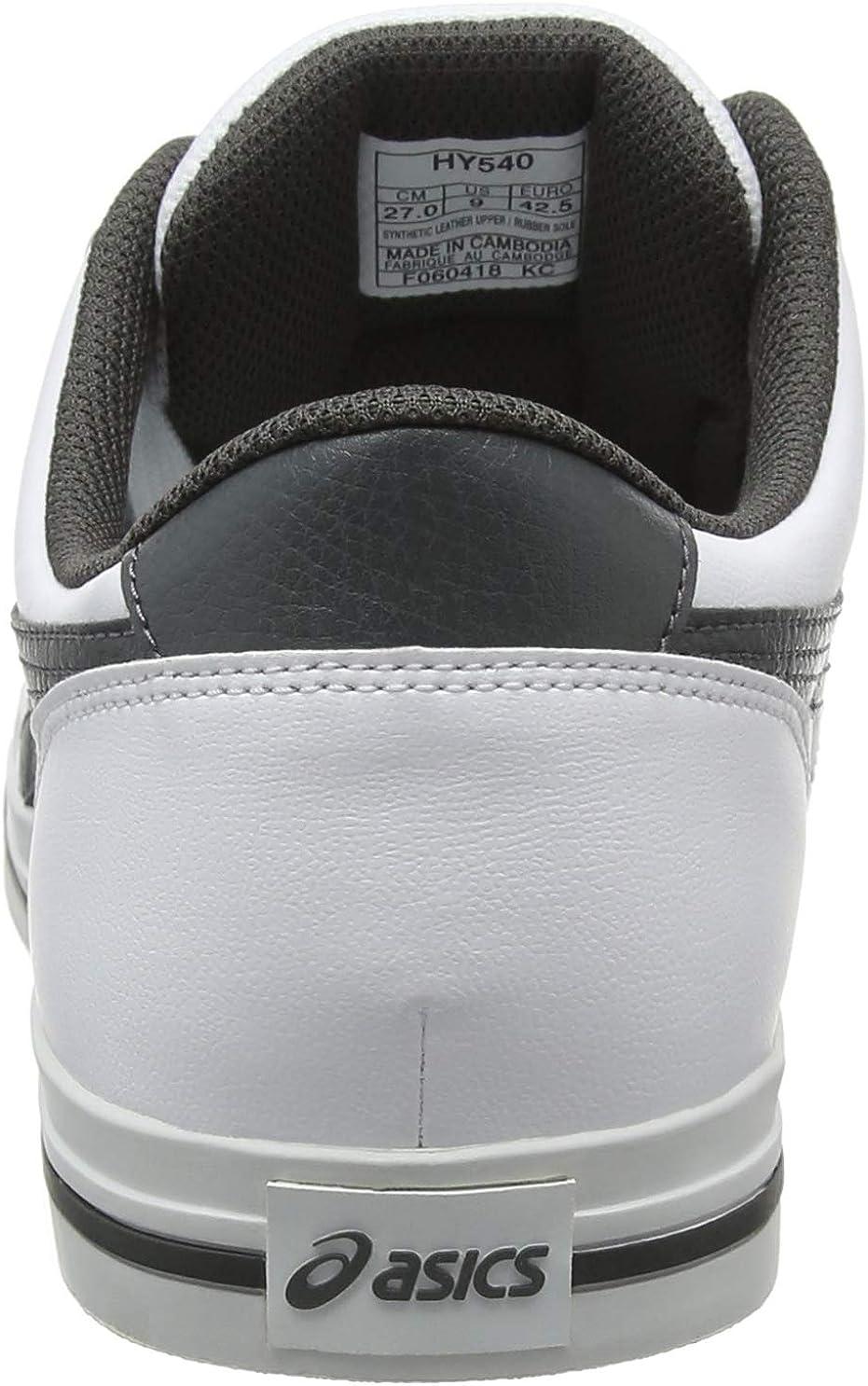 ASICS Men's Aaron Gymnastics Shoes White White Dark Grey 100