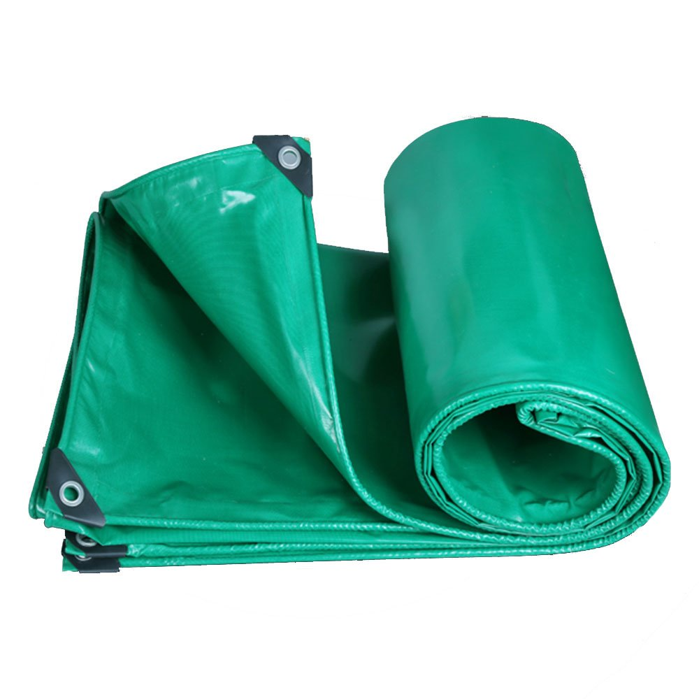 Vert 57m Tarpaulin HUO Draps Imperméables De BÂche, Toile Durable D'auvent De Vert, Résistance Anti-UV De Larme pour Le Camion (Couleur   Vert, Taille   2  2.5m)