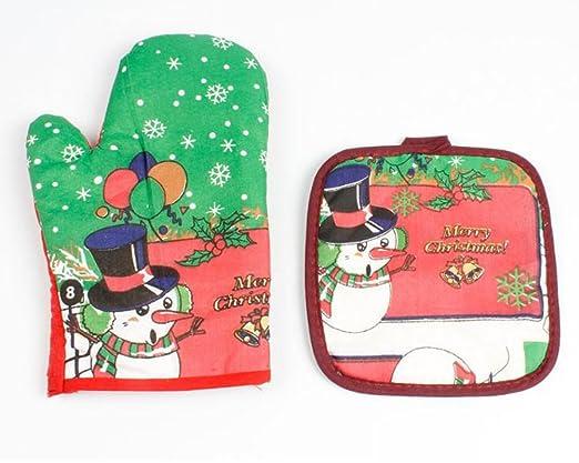 Décorations Lumanuby de 1X de four Noël saison en Mitaines PZuOkiX