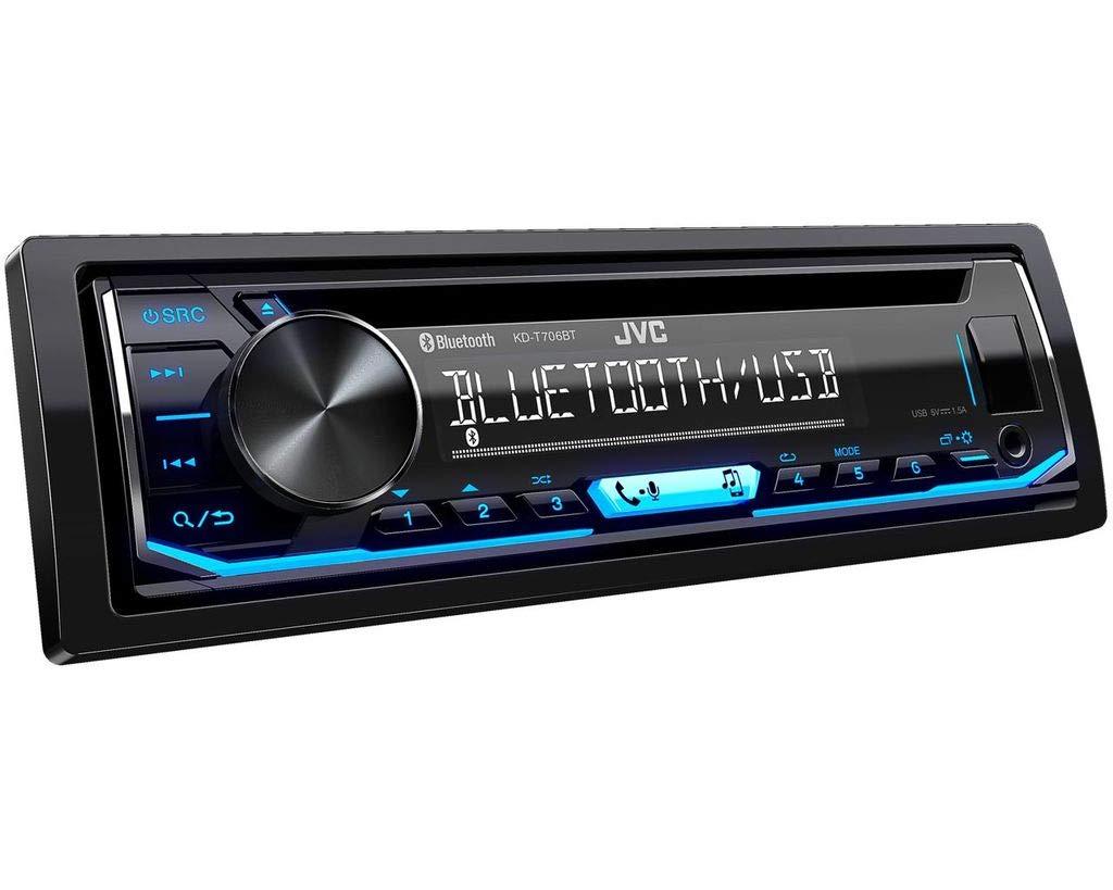 MP3 Einbauzubeh/ör Spotify Einbauset f/ür Renault Clio 3 Bluetooth JUST SOUND best choice for caraudio Autoradio Radio JVC KD-T706BT Android USB CD