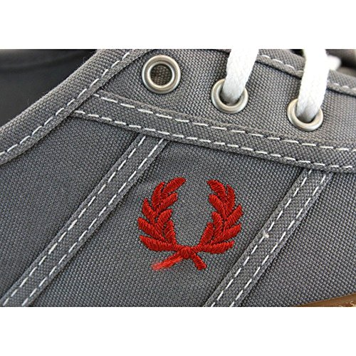 FRED PERRY B2170W-119 AUDREY CANVAS 1964 GRIS CLOUD TALLA 36