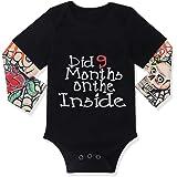 Newborn Baby Boy Cotton Fake Tattoo Sleeve...