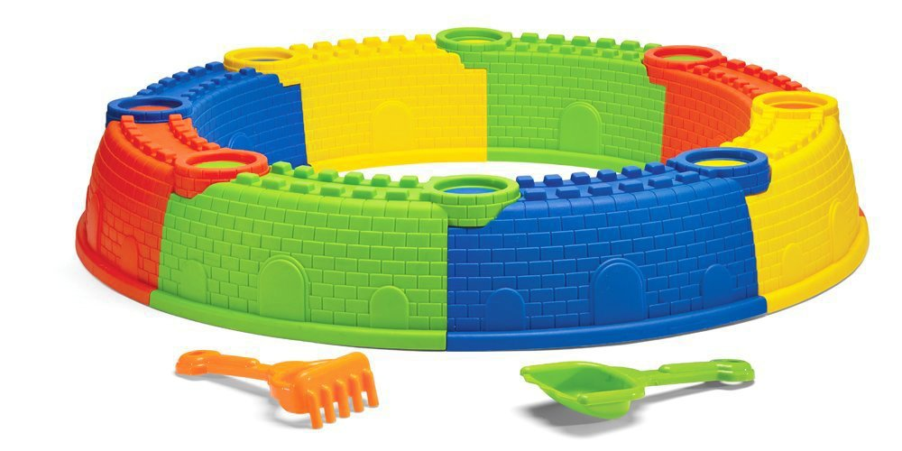 Kidoozie Castle Sand Pit Toy by Kidoozie