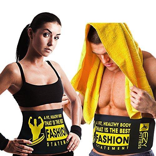 waist trimmer belt slimming fast unisex (Medium) - 7