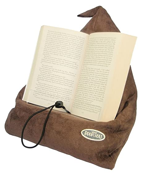 The Book Seat - Book Holder and Travel Pillow - Purple