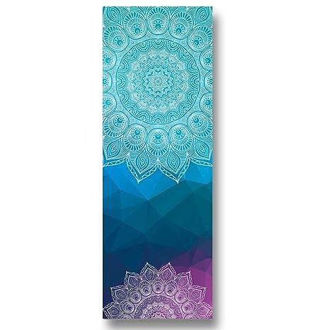 Shumo Toallas de Yoga Gruesas Antideslizantes, Tela de Yoga Superior Resistente Al Calor Y Absorbente Antideslizante, Toalla de Yoga M017-2