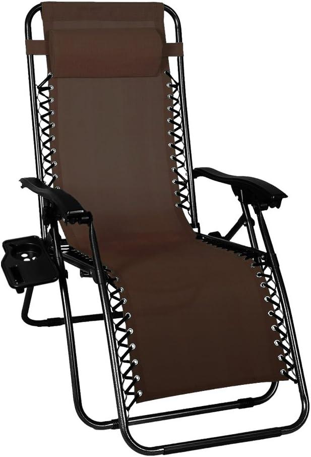 Odaof Zero Gravity Chair (Brown)