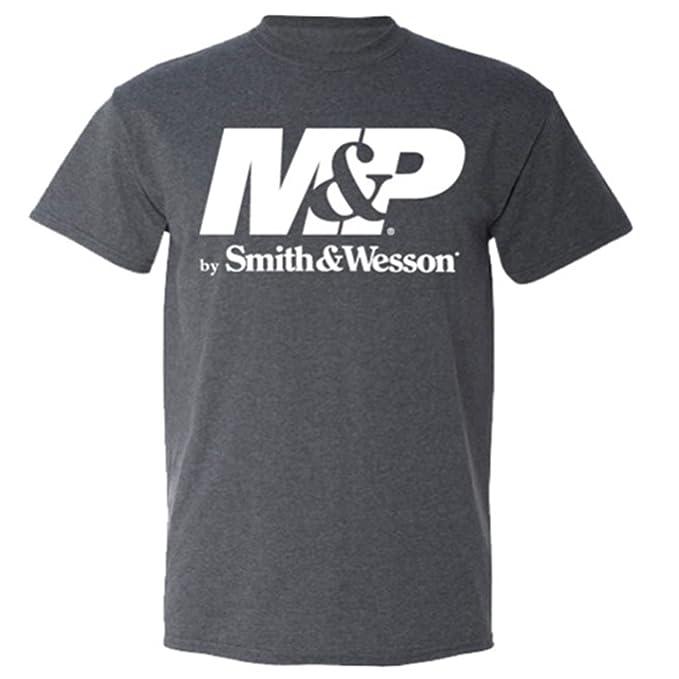 M P Smith Wesson   by-Maglietta con Logo b1ab707026f7