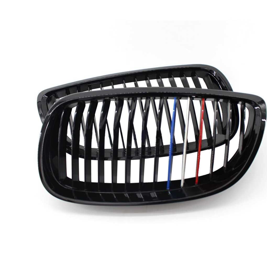 Meisijia M-couleur Car avant Grilles Noir brillant pour E92 E93 316i 320d 320i 323i 325d 325i 330i 06-10