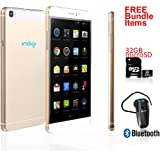 """New 2016 GSM Unlocked Indigi M8 Mobile Device Smart Phone Android 5.1 6"""" QHD - Free Bundled Items!"""