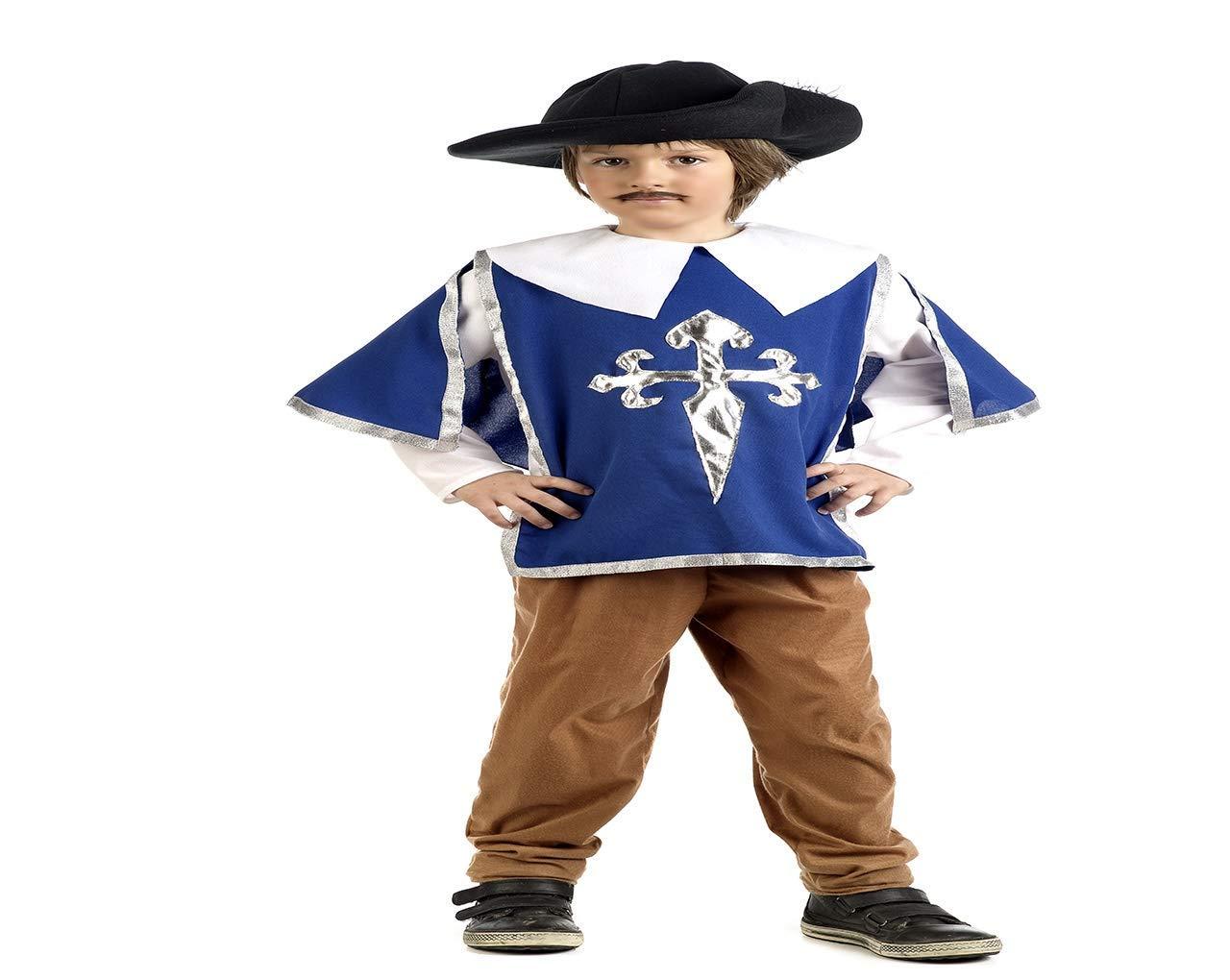 Limit Sport Disfraz de Mosquetero Cruz de Santiago para niños ...