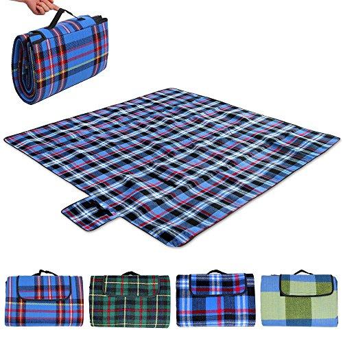 Picknick-Decke-mit-praktischem-Tragegriff-2x2m-4-Farben