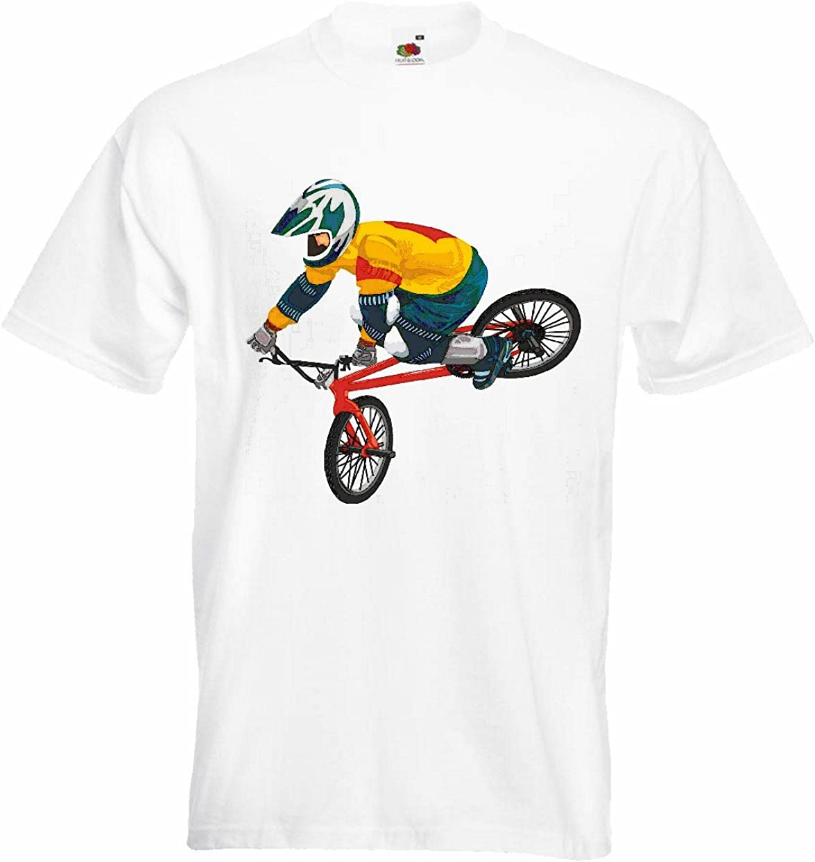 T-Shirt Camiseta Remera Ciclismo DE Bicicleta BMX Freestyle ...