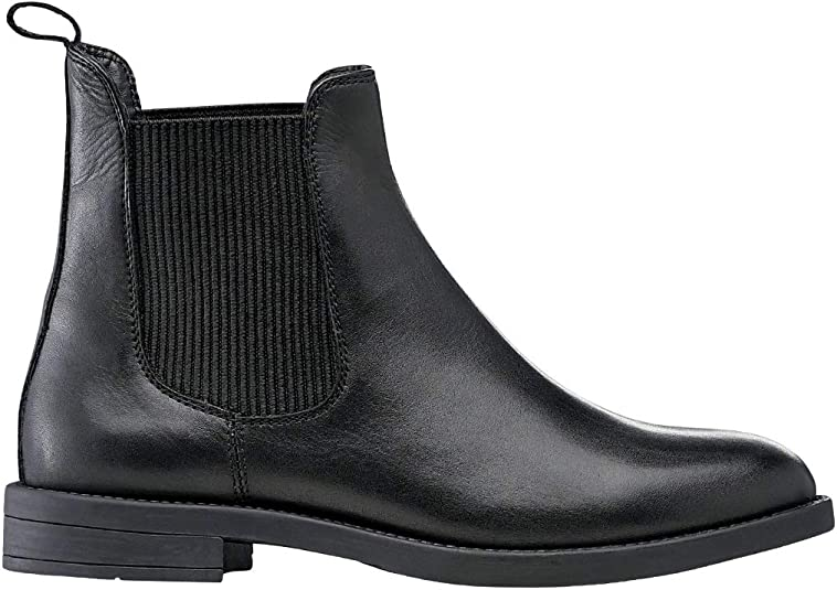 Wide Width Leather Chelsea Boots