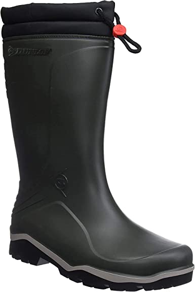 Dunlop Talla 45 Color Negro Botas para Hombre