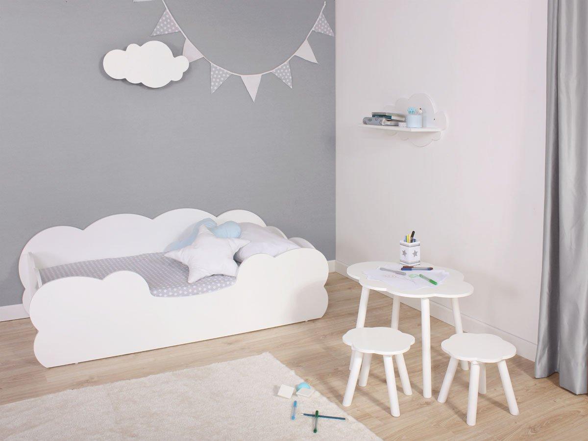 Bainba lit enfant Montessori Nuage 90/x 190/cm