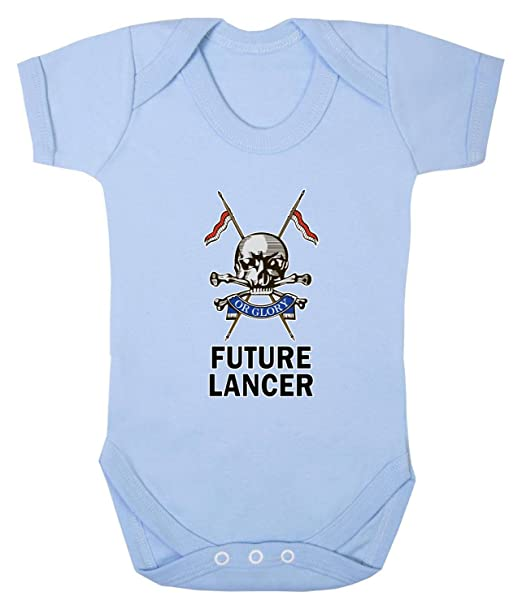 dc6af8e7 Badass Babies Future Lancer Babygrow: Amazon.co.uk: Clothing