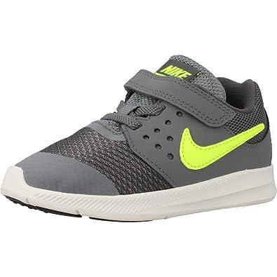 Zapatillas para niï¿œo, color gris , marca NIKE, modelo Zapatillas Para Niï¿œo NIKE DOWNSHIFTER 7 Gris: Amazon.es: Zapatos y complementos