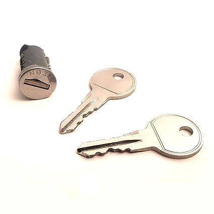 Thule 753015803 - Cerradura de Repuesto para Cilindro (1 Cilindro ...