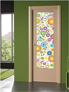 CustomGlass Cristal Decorado para Puertas de Interior Modelo Futh, Incluye instalación en (Murcia): Amazon.es: Hogar