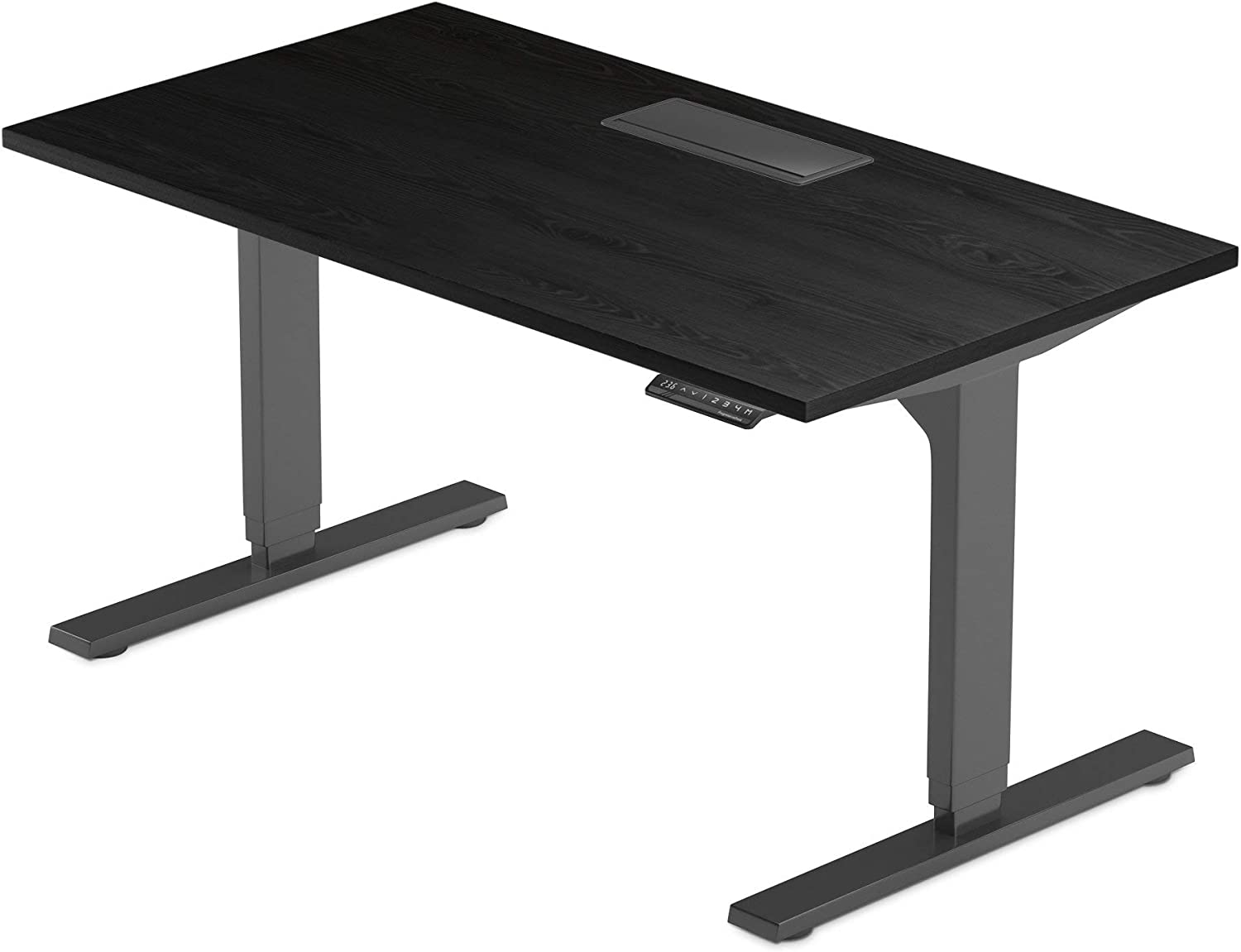 "Progressive Desk 72 inch Standing Desk, Large Electric Stand up Office Desk, Compatible with Accessories, 72""x30"" - Solo Ryzer"