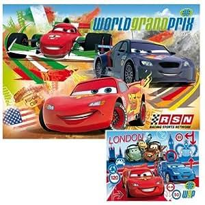 Clementoni 24719.6 Multimedia Cars 2 - Puzzles (2 unidades, 20 piezas)